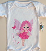 SubliSoft babygro short sleeves