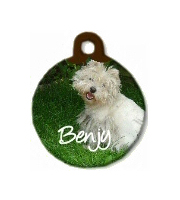 Unisub pet tag circle