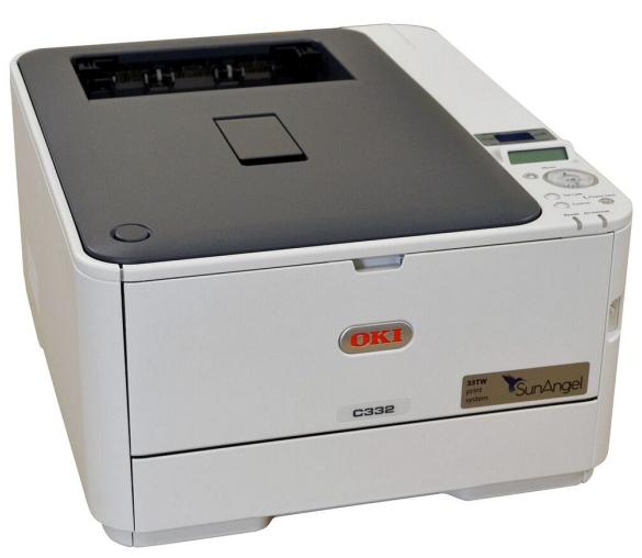 SunAngel 33TW A4 printer with starter cart pack