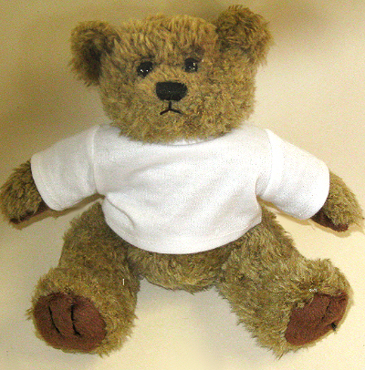 Teddy Bear 7 Quot High With T Shirt For Dye Sublimation Printing