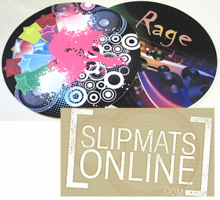 Slipmats for dye sublimation printing