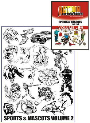 Action Illustrated Sports and Mascots Clipart Volume 2