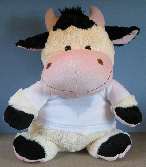 Crazy Critter Clover Cow giant size
