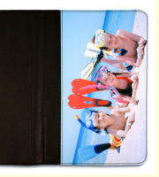 "PictaLeather flip case for Galaxy Tab 1&2 (10.1"")"