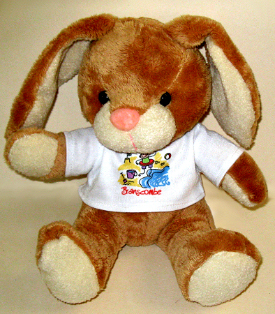 Soft toy rabbit