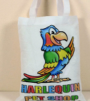 Polyester promo bag small