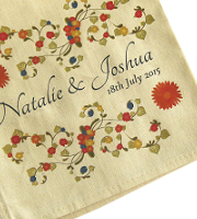Natural coloured cotton napkin