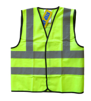 Hi-visibility safety vests - child