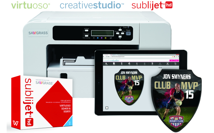 Virtuoso SG400 printer and install kit (standard cartridges)