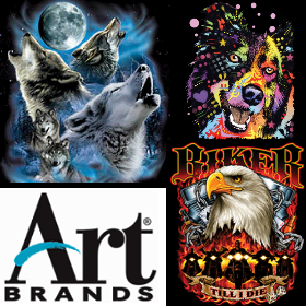 Licenced artwork from Art Brands and Wild Side