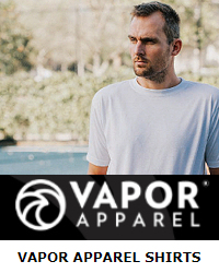 Vapor Apparel t-shirts for dye sublimation printing
